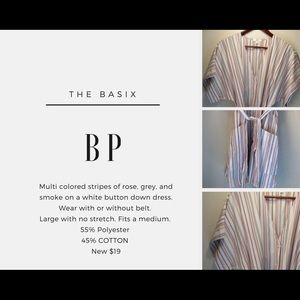 BP BUTTON FRONT DRESS🆕